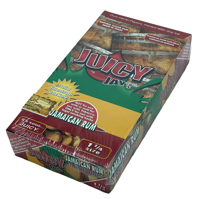 Juicy Jay's 1 1/4 Flavoured Papers - JAMAICAN RUM