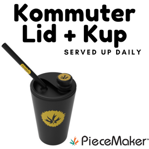 Kommuter Silicone Cup Dab Rig by PieceMaker