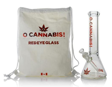Limited Edition Red Eye Glass® 'O Cannabis' Commemorative Water Pipe