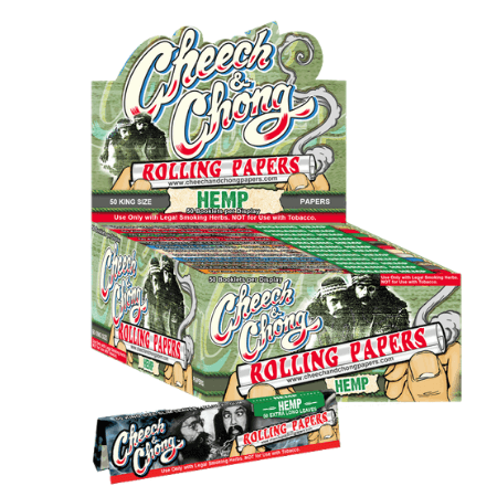 Cheech & Chong Hemp King Size Rolling Papers