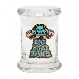 NO BAD TRIPS Stash Jar