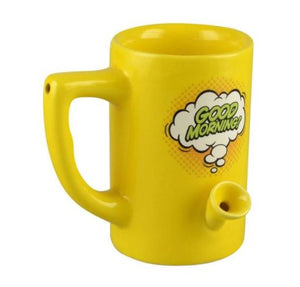 WAKE & BAKE 8OZ NOVELTY MUG - GOOD MORNING