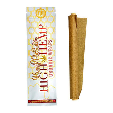 High Hemp Wraps Honey Pot Swirl