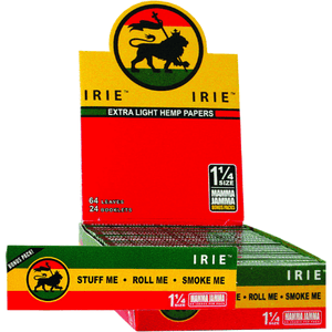 Irie 1 1/4 Hemp Rolling Papers