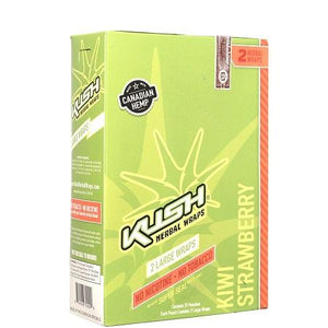 Kush Herbal Wraps KIWI STRAWBERRY