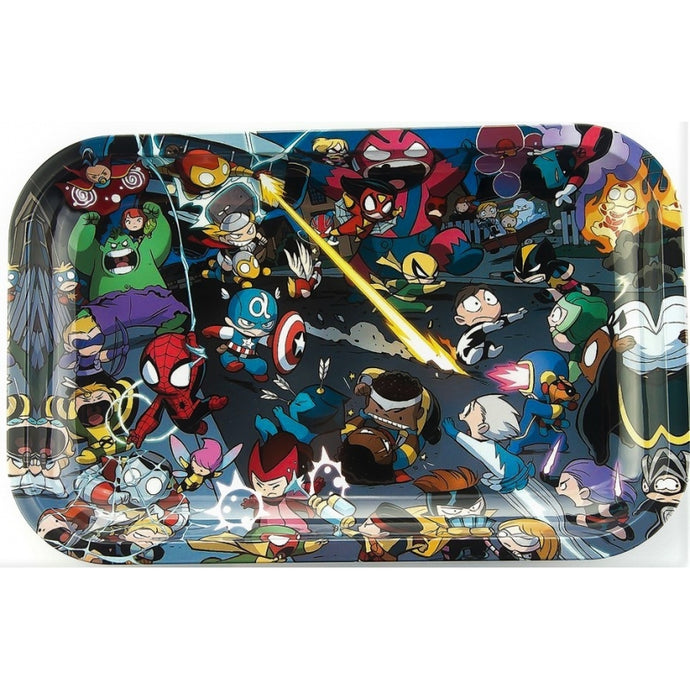 TRAY MEDIUM SUPER HERO KIDS