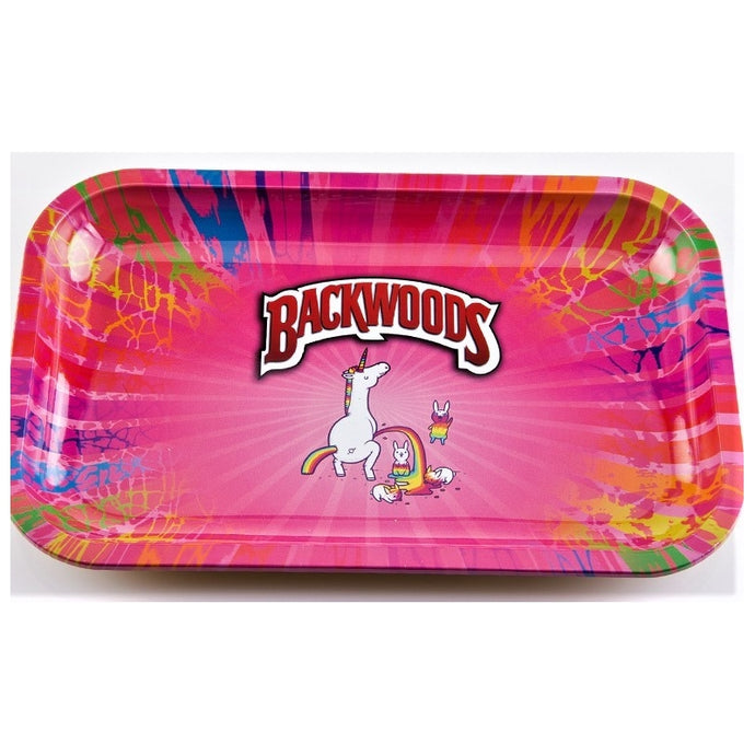 TRAY MEDIUM UNICORN RAINBOW BACKWOODS