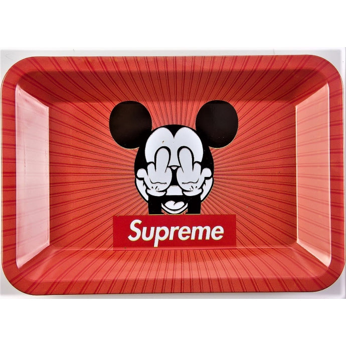 TRAY SMALL SUPREME FUCK MICKEY