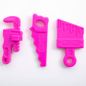 Hot Pink Teether Tool Set ( 3 pack)