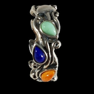 Sterling Silver Carolyn Pollack Relios  Ring
