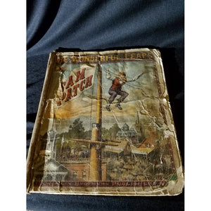 RARE 1875 The Wonderful Leaps of Sam Patch Book