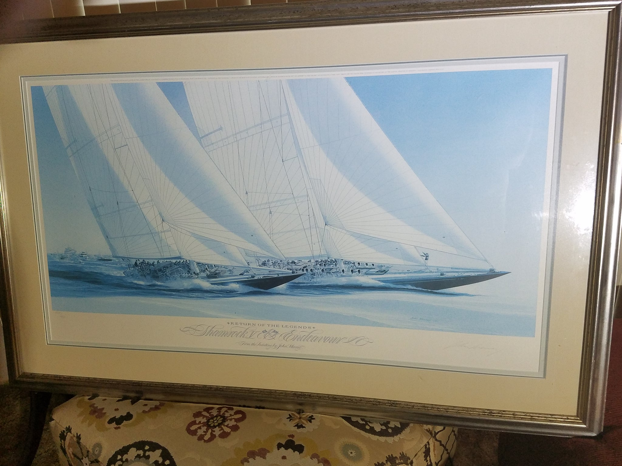 Return of the Legends by John Mecray, Signed/Limited Print, Framed 288/950