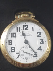 "1944 Hamilton ""Railway Special"" Pocket Watch"