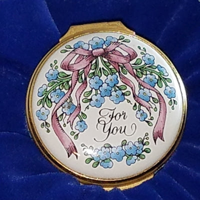 Vintage Halcyon Days Enamel box