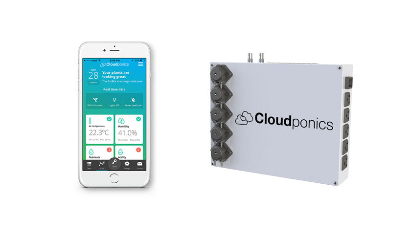Cloudponics fully automated plant grow systems