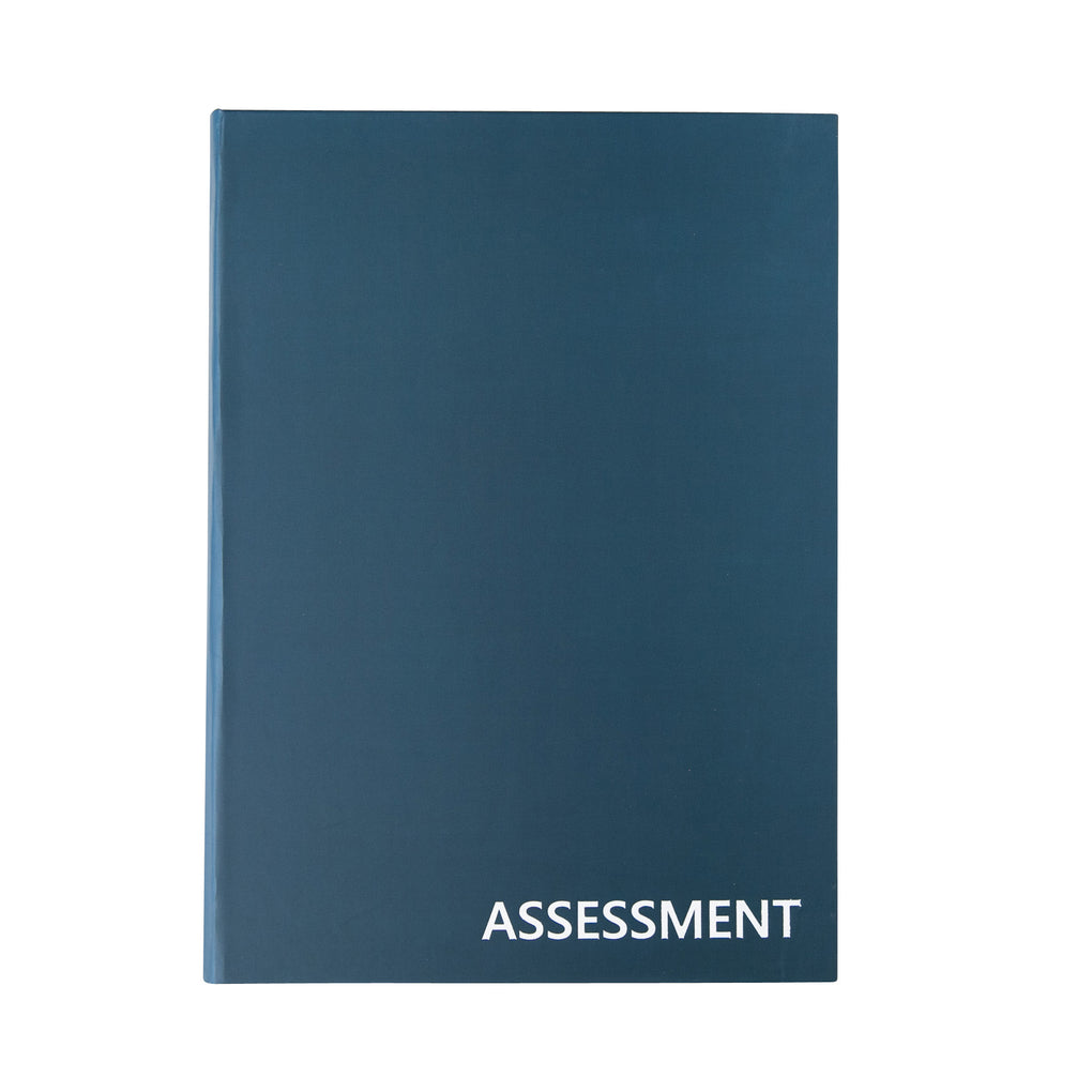 *PRE-ORDER* ASSESSMENT RECORD KEEPING BOOK - LAY FLAT