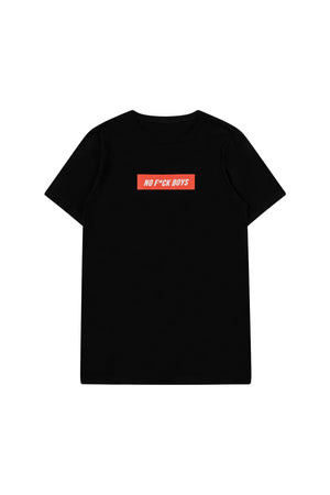 No F*ck Boys Tee - Black