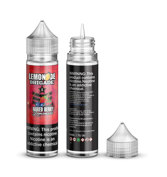 Lemonade Brigade - Mixed Berry - 60ml