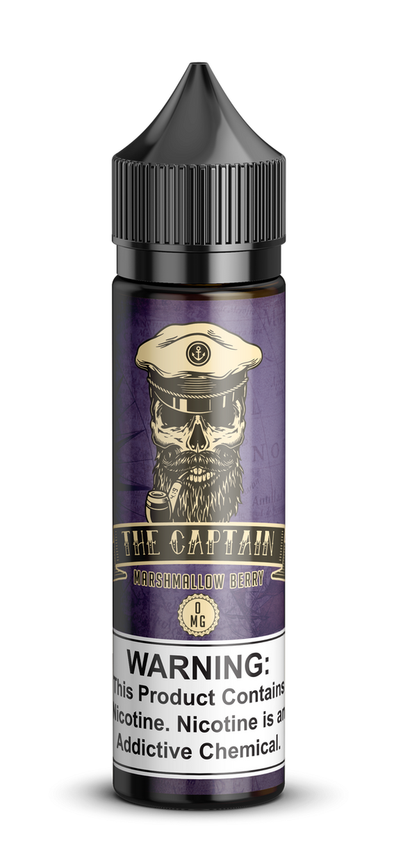 The Captain – Berry Marshmallow - 60ml