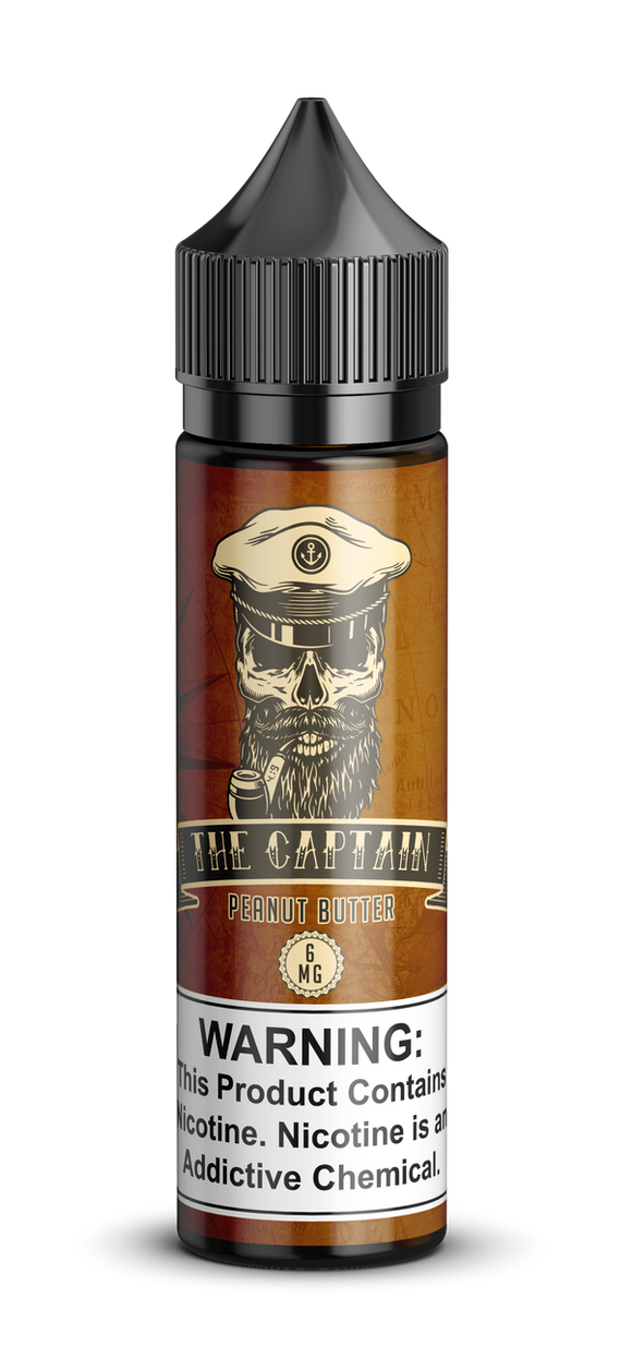 The captain – Peanut Butter - 60ml
