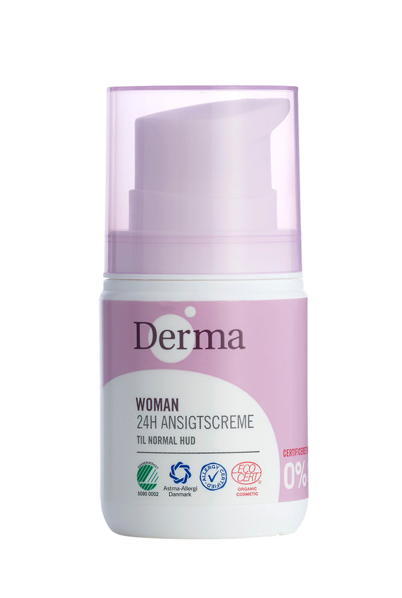 Derma Eco Woman | 24H ansigtscreme (normal hud)