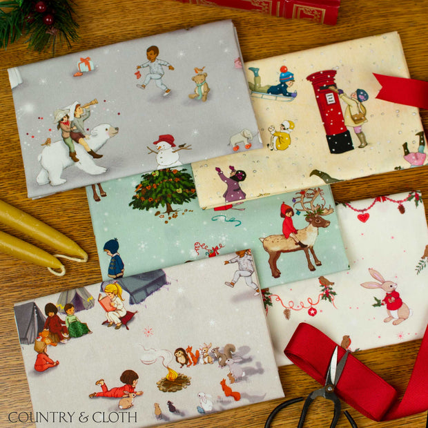 Belle and Boo Christmas Fabric Bundle