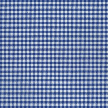 Carolina Gingham - Royal 1/8""