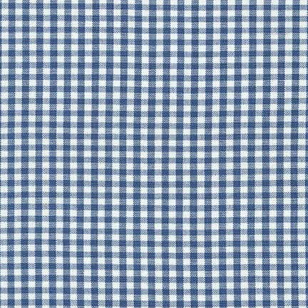 Carolina Gingham - Denim 1/8""