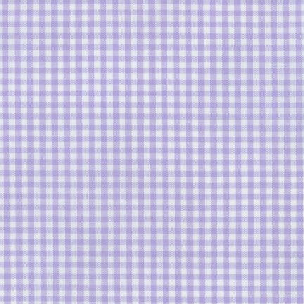 Carolina Gingham - Lavender 1/8""