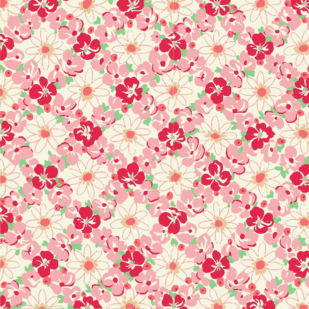 quilt-gate-ruru-bouquet-florette-pink-red-flowers-cream-lattice-2340-12A