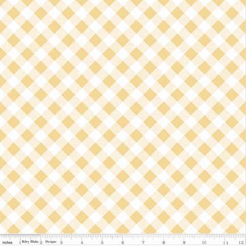 Riley-Blake-Lori-Holt-Sew-Cherry-2-Gingham-Yellow-C5808