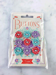 Tilda Lazy Days Buttons 400020 front view
