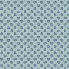 English Garden - Floral Dot Blue