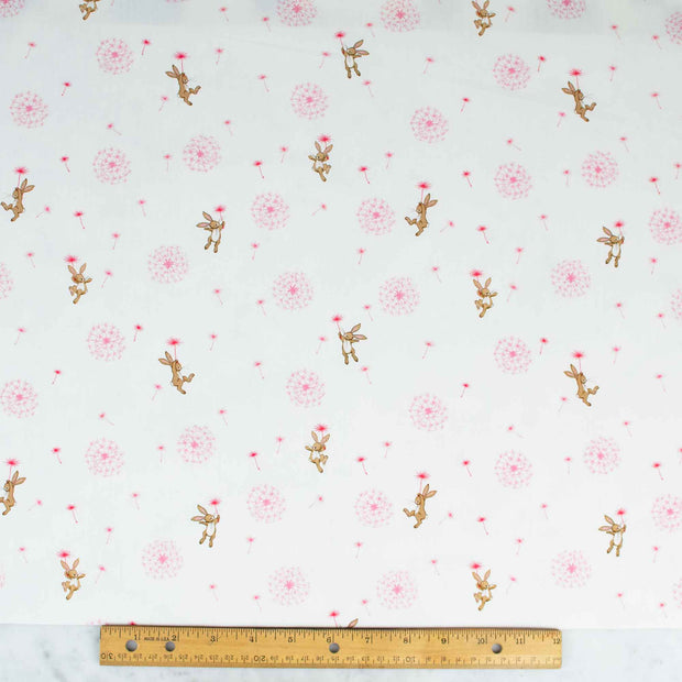 belle-and-boo-dandelion-on-white-extra-wide-fabric