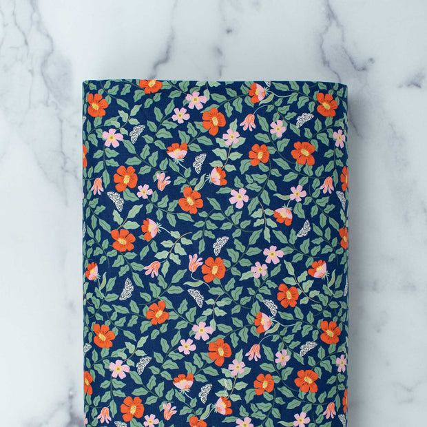 cotton-and-steel-rifle-paper-company-strawberry-fields-primrose-navy-fabric-rp402-na1