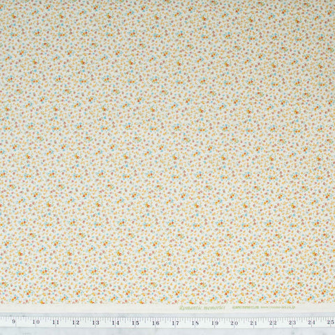 quilt-gate-cosmo-textiles-romantic-memories-tiny-golden-red-and-teal-flowers-on-cream-8787-1C