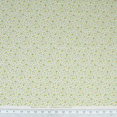 quilt-gate-cosmo-textiles-romantic-memories-tiny-green-and-yellow-flowers-on-cream-8787-1D