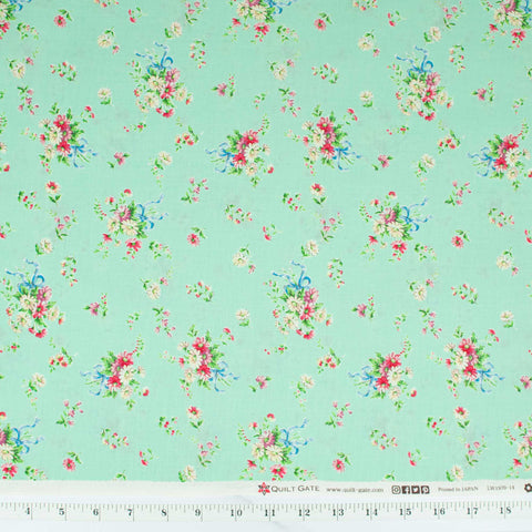 quilt-gate-little-bunny-by-dear-little-world-floral-spray-bouquet-mint-LW1970-D-LW1970D-1970