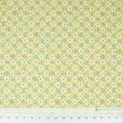 quilt-gate-ruru-bouquet-florette-floral-lattice-light-yellow-and-green-flowers-on-cream-2340-12B