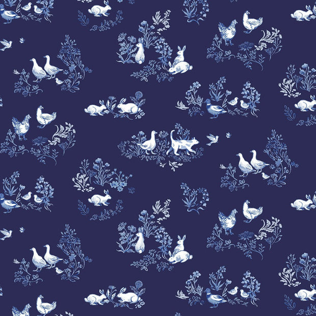 windham-fabrics-english-garden-clare-therese-gray-garden-wildlife-navy-51832-2