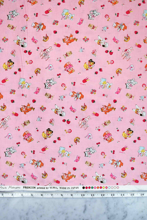 yuwa-atsuko-matsuyama-30s-collection-cute-animals-tiny-flowers-berries-pink-AT826484-B
