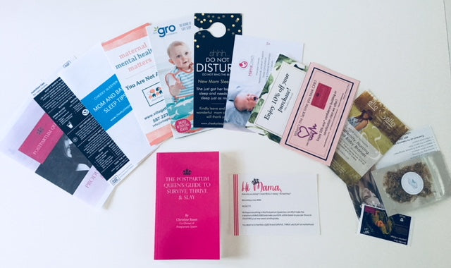100's of dollars in coupons, resources and services for Postpartum