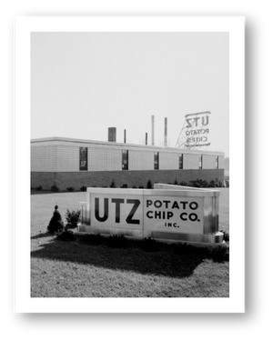 The 1st official Utz plant on Carlisle Street in Hanover