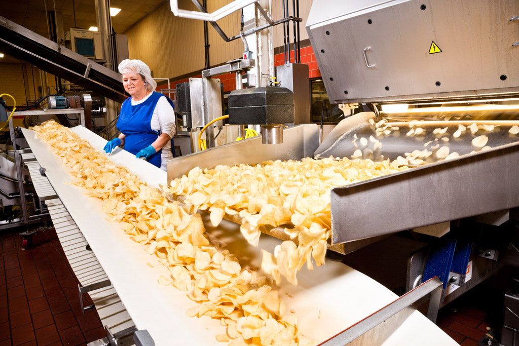 Photo of Utz Chips Assembly Line