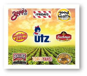 Utz adds Brands to the family. Zapp's, Dirty, Good Health, Boulder Canyon, Golden Flake, Bachman