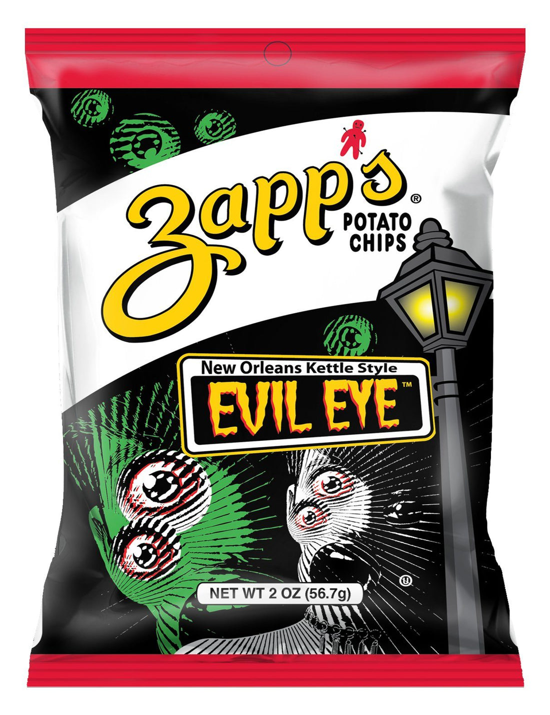 Zapp's Kettle Potato Chips, Evil Eye