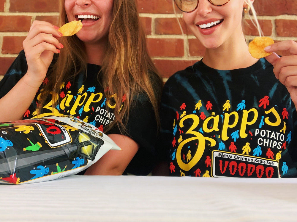 Zapp's Voodoo Tie Dyed T-Shirt Gear And Novelties Utz