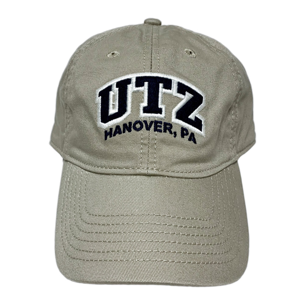 Utz Arched Logo Hat Gear And Novelties Utz Tan