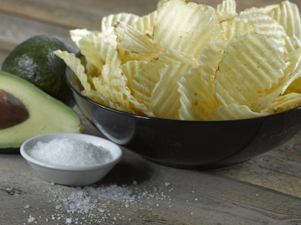 Boulder Canyon Avocado Oil Canyon Cut Kettle Potato Chips, Sea Salt