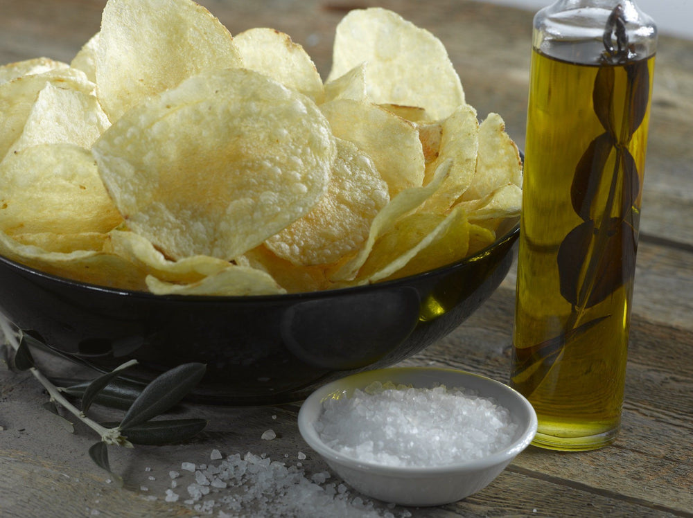 Boulder Canyon Olive Oil Kettle Potato Chips, Sea Salt